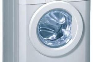 Тестовые программы и коды ошибок в стиральных машинах Gorenje WA-101/121/132/162/162Р
