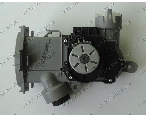 Корпус тэна с моторчиком посудомоечной машины Bosch SRV55T34EU/15 SGV57T23EU/10