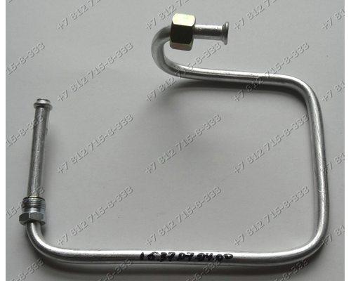 Газовая трубка от средней нижней конфорки для плиты Bosch NGM615XEU