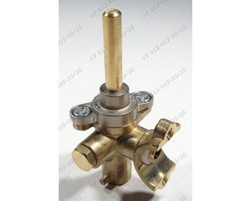 Газовый кран в сборе с жиклером - 49 ГМГ2.00-04 для плиты Гефест