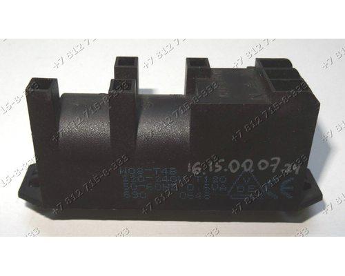 Генератор поджига 4 контакта с заземлением 0,6VAC T=120*C AC220/240V 50/60Hz W08-T4B для плиты