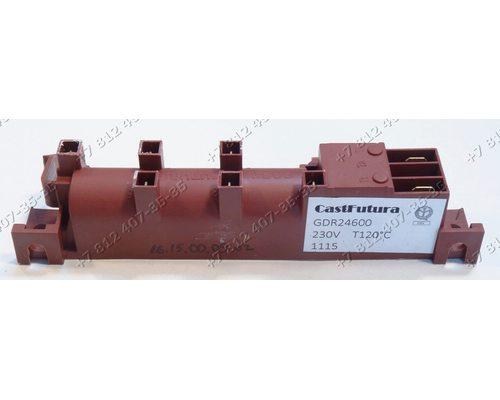 Генератор поджига 6 контактов без заземления 230V GDR24600 CastFutura для плиты