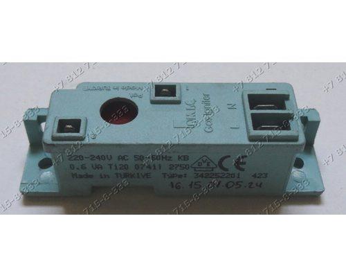 Генератор поджига 220-240V 50-60Hz 090646 type 342252201 2 контакта плиты Electrolux Gorenje