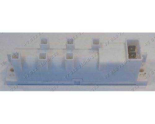 Генератор поджига 6 контактов на конфорку, 3 на подключение BR-1-5 230V 0,6W T120 для плиты Gefest
