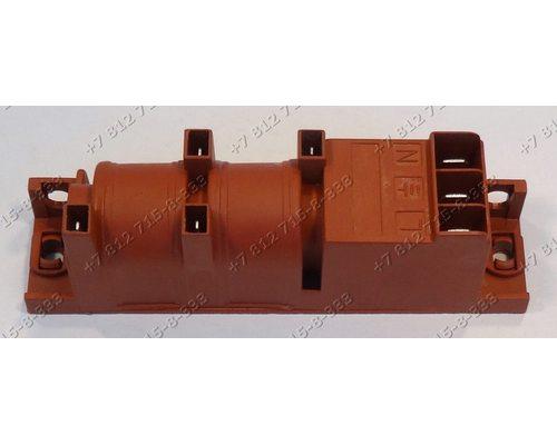 Генератор поджига 4 контакта многоискровой WAC-4A-HT 220/240V 50/60HZ 0,6VA T120 для плиты Gefest