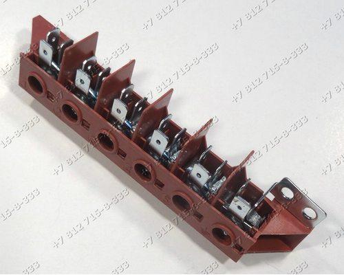 Клеммная коробка 40A (3-PHASE 380V) для плиты Indesit Ariston