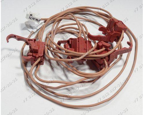 Блок микровыключателей поджига для плиты Indesit, Ariston GF640K, PC640TGH, PH640MST, PH640MSTGH