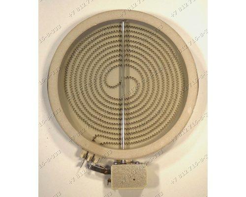 Конфорка D=155мм(180мм) 1802032922 1400W стеклокерамика для плиты