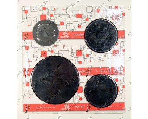 Комплект крышек рассекателей 55605020 плиты Electrolux, Zanussi