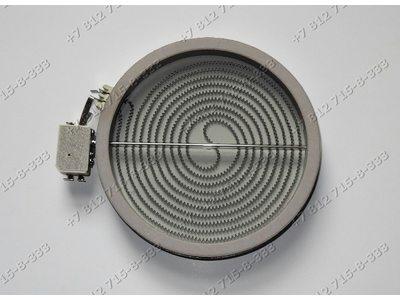 Конфорка стеклокерамика для электроплиты Indesit D=175мм(200мм) 1800W