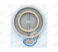 Конфорка стеклокерамика для плиты Ariston Indesit CRO642DB 1700W/700W двухзонная