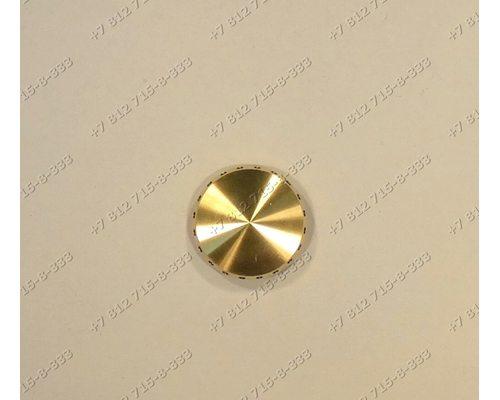 Рассекатель (глянцевый диаметр 37 мм) для плиты Ariston Indesit