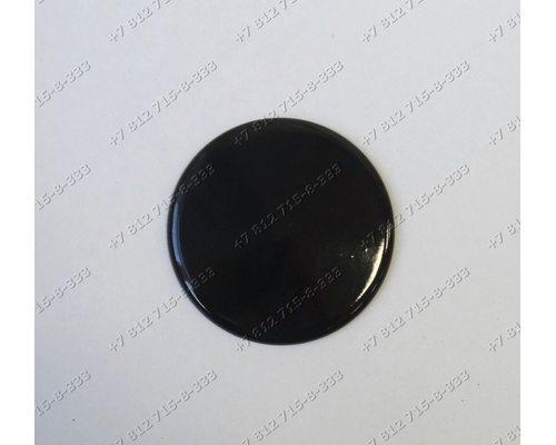 Крышка (диаметр 78 мм) рассекателя для плиты Ariston Indesit