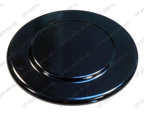 Крышка рассекателя диаметр 111 мм глянец для плиты Ariston Indesit C14G(W)I, C14SG1(W)I, C14SG1(X)I, G640B
