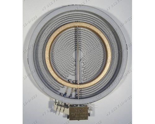 Конфорка 10.51213.492 ego 2200W/1000W стеклокерамики для плиты Bosch