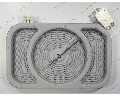 Конфорка стеклокерамики 2400W/1500W для плиты Bosch Gaggenau CK270104/01