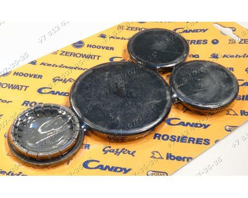 Комплект рассекателей для плиты Candy P64A, P64A B.CO, P64AS B.CO, P64ASTF, PI460X, PI461AW