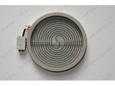 Электрическая конфорка для стеклокерамической плиты D 180 мм - 200 мм 1800W с датчиком