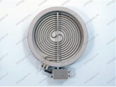 Конфорка D=165 mm (145mm), 1200W стеклокерамика для плиты Whirlpool HOB601S000 854178301000