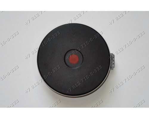 Конфорка чугунная для плиты Whirlpool Hansa BHEI30130010 Гефест 2140-03