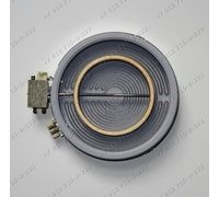 Конфорка двухзонная D=110мм(125мм)/175мм200мм) стеклокерамика для плиты Whirlpool AEG Electrolux и т.д.