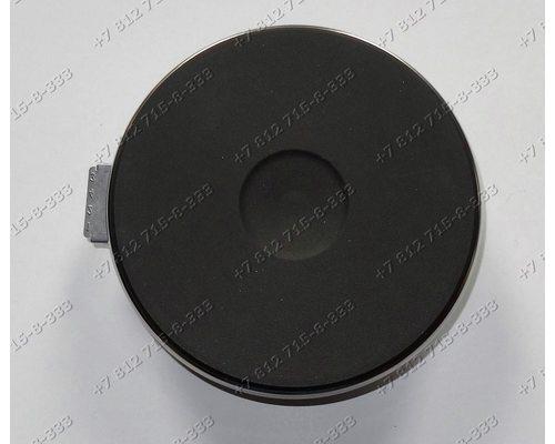 Конфорка чугунная для плиты EGO 1500W 180 мм под винты для плит Whirlpool Beko Hansa Gefest Bompani и т.д.