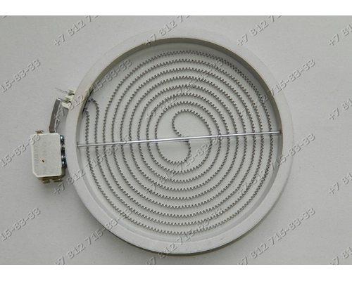 Конфорка D=205мм(230мм) 2100W стеклокерамики Whirlpool
