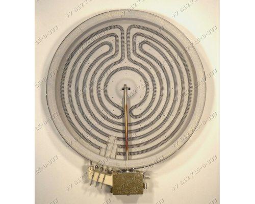 Конфорка D=220 мм 2100W стеклокерамики для плиты Whirlpool, Amica