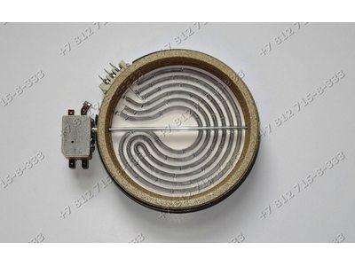 Конфорка D=140мм(165мм) 1200W 1650734811 стеклокерамика для плиты Beko