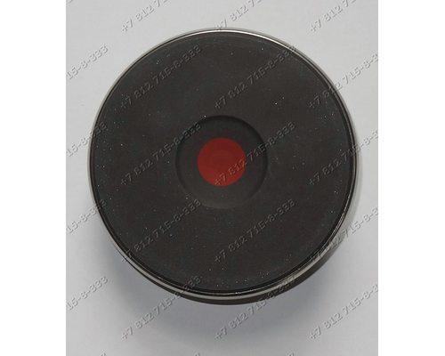 Конфорка чугунная под контакты 145 мм 1500W для плиты Beko,Asko,Gorenje