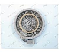 Конфорка двухзонная для стеклокерамической плиты Gorenje диаметр общий 200 мм мощность 1700W/800W
