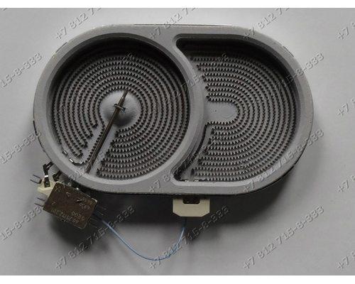 Конфорка 2000W D=140мм(165мм)/245мм(270мм) для стеклокерамики для плиты Gorenje