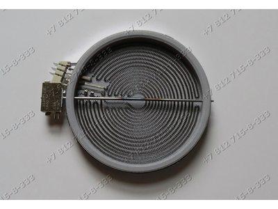 Конфорка трехзонная 210мм/190мм стеклокерамика для плиты Gorenje EC777W 695409 EC778W 153303