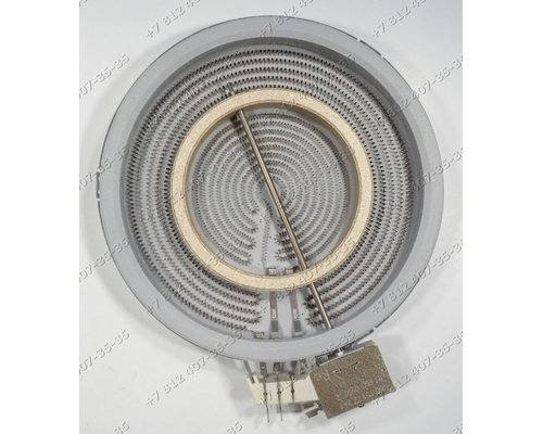 Конфорка стеклокерамика для плиты Miele KM548 40/62817431
