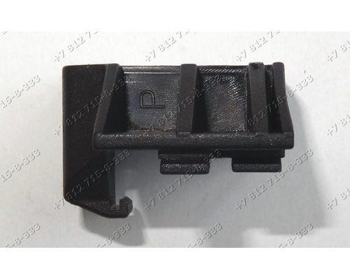 Левое крепление стекла духовки для плиты Hansa FCCW51004011
