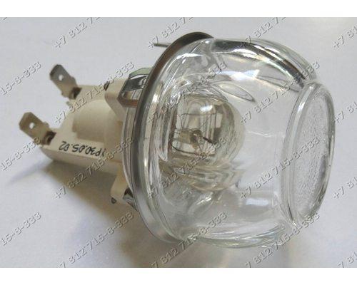 Лампочка в сборе 25W E14 для плиты Indesit K3C76(X)/BG Ariston