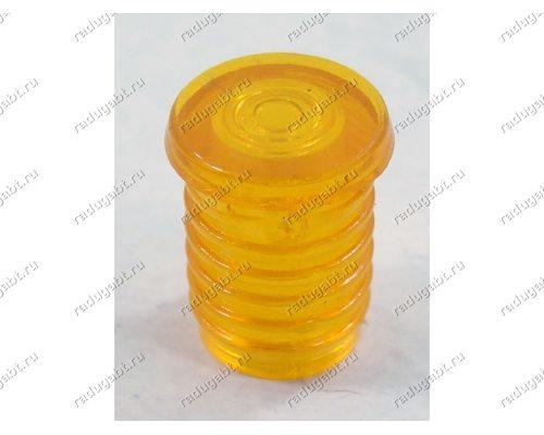 Колпачок индикаторной лампочки плиты Gorenje - оранжевый - ОРИГИНАЛ