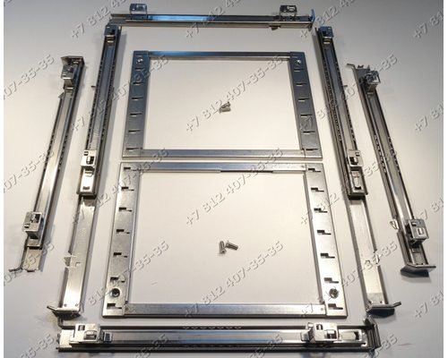 Телескопические направляющие для плиты Kuppersbusch EEB6800.6, EEB6600.5, EEB6500.5, EEB6200.5, EEH6200.5, EEB6800.6MX