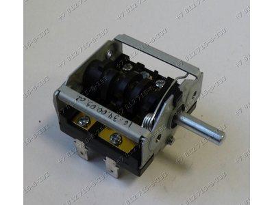Переключатель мощности ZX-854 ZX854 ПМ-7 7 позиций длина вала 23 мм для плиты