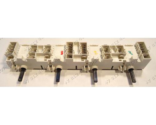 Блок переключателей для плиты Ariston, Indesit CISHB10A.1IX, HB10A(OW), HGK2.B(IX)IB, HI20.ABK, HIN550IX