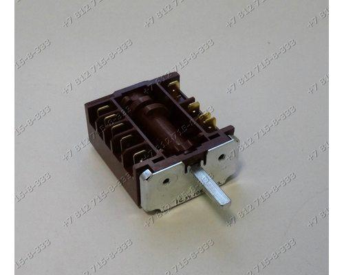 Переключатель мощности ПМЭ27-2368 5+0 положений длина вала 23 мм для плиты ЗВИ