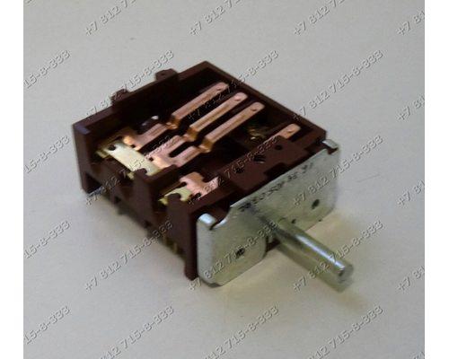 Переключатель мощности ПМЭ27-2359-УХЛ4 4+0 положений длина вала 23 мм для плиты ЗВИ, Дарина