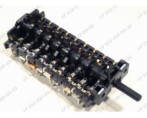 Переключатель мощности 7 переключений 4073/14 для плиты Smeg
