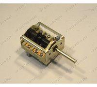 Переключатель режимов ПМ-3 ПМ3 длина вала 39 мм 3+0 положений духовки Электра Нововятка