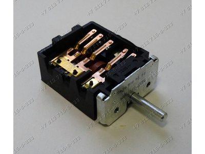 Переключатель мощности конфорки ПМЭ27-23711-УХЛ4 6+0 положений для плиты Лысьва