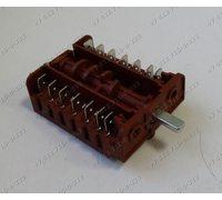Переключатель мощности конфорки ПМ-7 BC6-12 длина вала 16 мм, 7 положений для плиты Renova