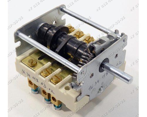 Переключатель режимов для электроплит и жарочных шкафов Абат 4-позиционный EGO 43.24232.000