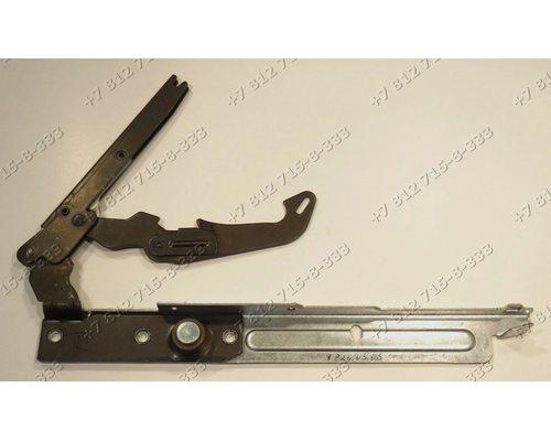 Левая петля дверцы для плиты Indesit Ariston C00111614
