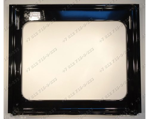 Передняя панель (окантовка проема духовки) для плиты Ariston C6V P4(W)R
