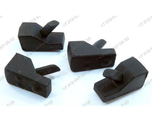 Комплект резинок под решетку для плиты Whirlpool Bauknecht AKT2000/MR, GMA7444/IXL, AKT414NB и т.д.